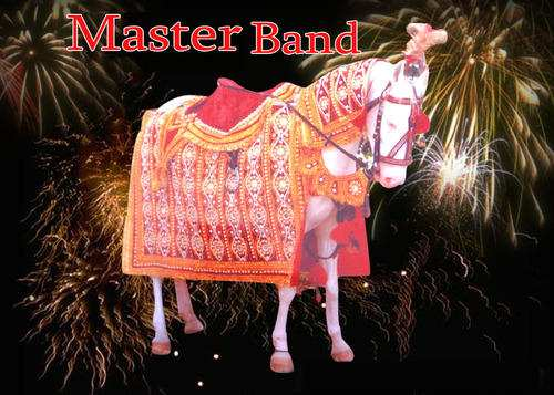 Master band presents Golden Saaz with Pearl Decorated Ghori